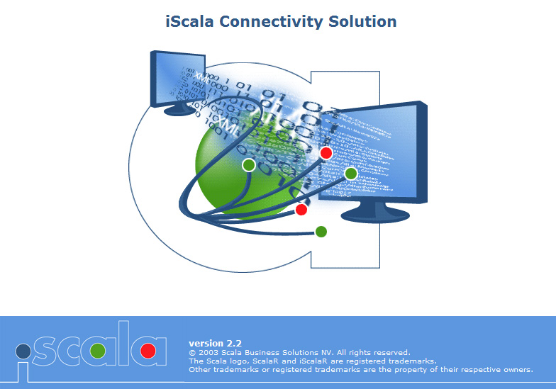 "заставка ""iScala Connectivity Solutions"""